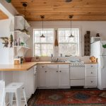 Neutral colored kitchen